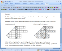 Screenshot of Zarb in Microsoft Word